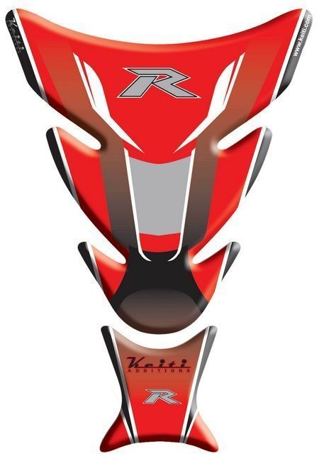 Protège Réservoir Keiti Kawasaki Rouge Tkw 504r 10024