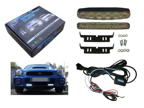 Leds 2 Kit 12v Vega® Diurnes 6 Automatiques Luxeon Feux 2YDIbeWEH9