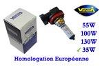 Ampoule Vega® Halogène H8 Maxi 35W