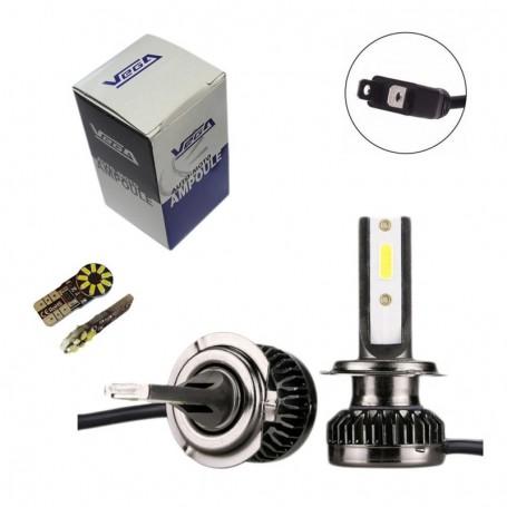 Kit Q3 Full leds COB 360° Vega® 1 ampoule H7 12V 24V