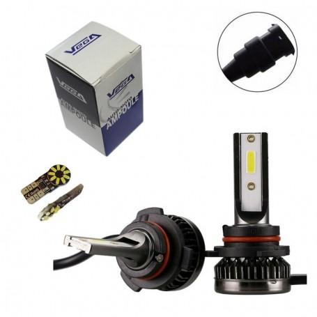 Kit Q3 Full leds COB 360° Vega® 1 ampoule HB4 12V 24V