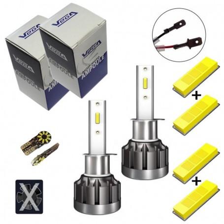 Kit Q6 Full leds CSP Vega® 2 ampoules H1 12V 24V