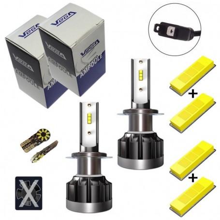 Kit Q6 Full leds CSP Vega® 2 ampoules H7 12V 24V