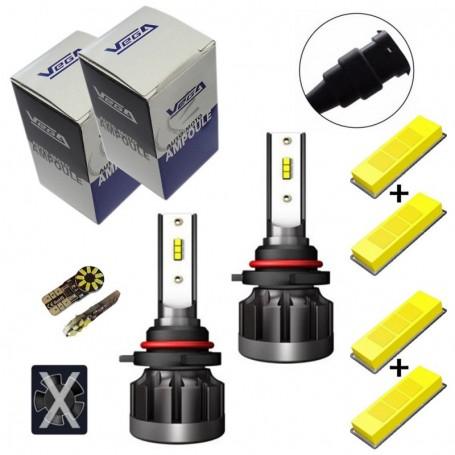 Kit Q6 Full leds CSP Vega® 2 ampoules HB3 12V 24V