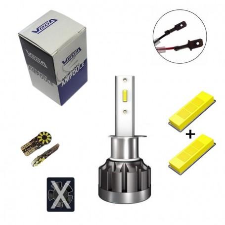 Kit Q6 Full leds CSP Vega® 1 ampoule H1 12V 24V