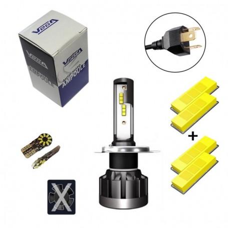 Kit Q6 Full leds CSP Vega® 1 ampoule H4 12V 24V