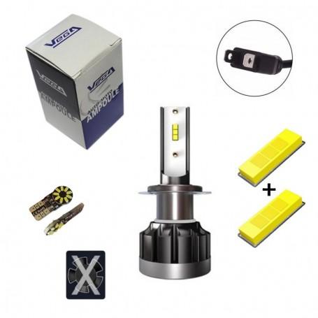 Kit Q6 Full leds CSP Vega® 1 ampoule H7 12V 24V