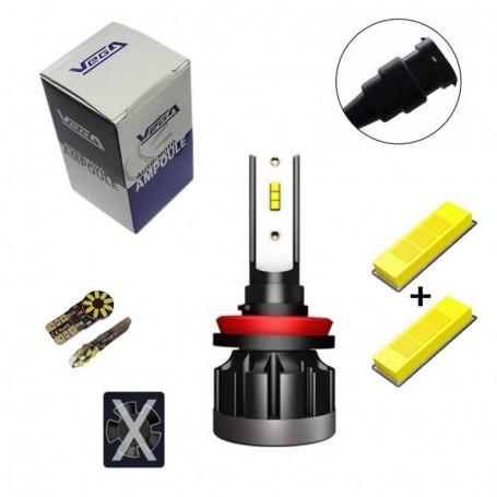 Kit Q6 Full leds CSP Vega® 1 ampoule H8 12V 24V
