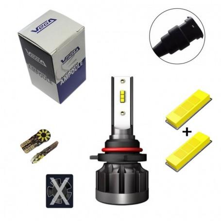 Kit Q6 Full leds CSP Vega® 1 ampoule HB3 12V 24V