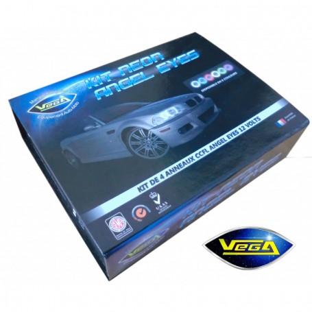 Kit Vega® 4 anneaux néon CCFL Angel Eyes pour BMW, Golf