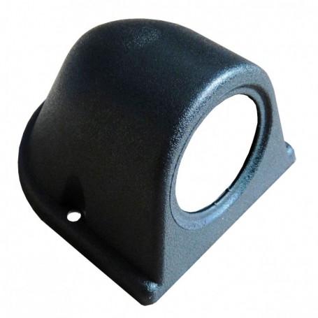 Support horizontal noir 1 manomètre 52 mm