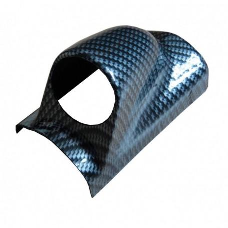 Support vertical carbone 1 manomètre 52 mm