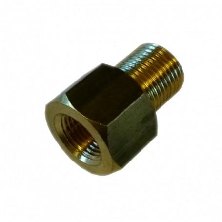 Adaptateur sonde Femelle 1/8-27NPT Male M12x1.0