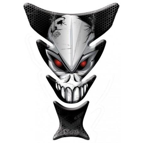 Protège réservoir moto 3D Keiti® Téte de Mort KT7000