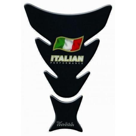 Protège réservoir moto 3D Keiti® Italian Noir KT6400K