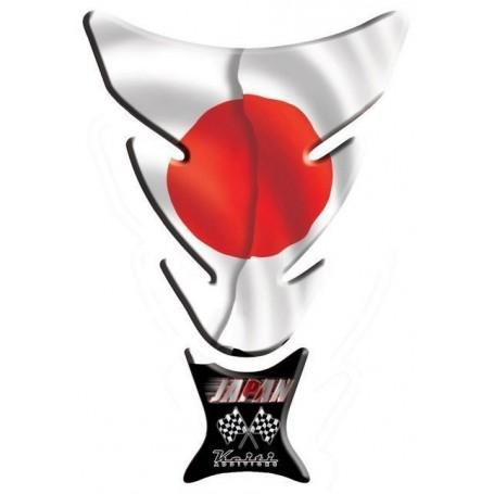 Protège réservoir moto 3D Keiti® drapeau Japon KT006