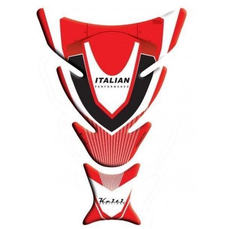Protège réservoir moto 3D Keiti® Ducati Rouge TDC-103R