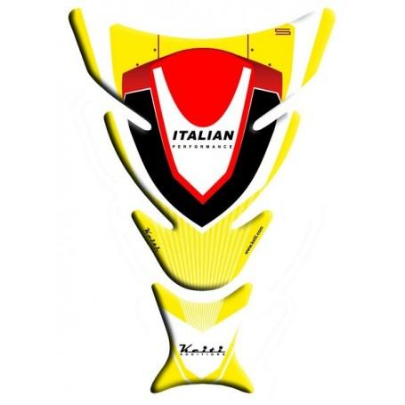 Protège réservoir moto 3D Keiti® Ducati Jaune TDC-103Y