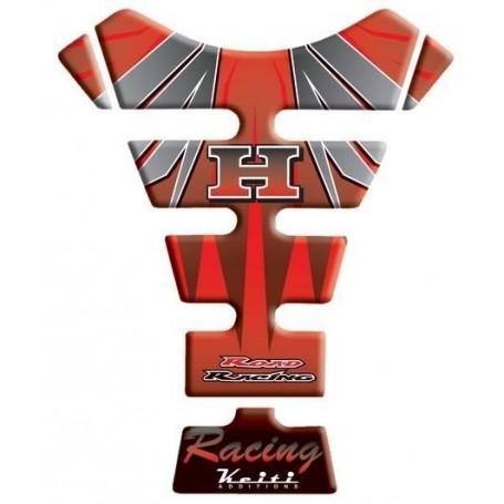 Protège réservoir moto 3D Keiti® Honda Rouge THD-204R