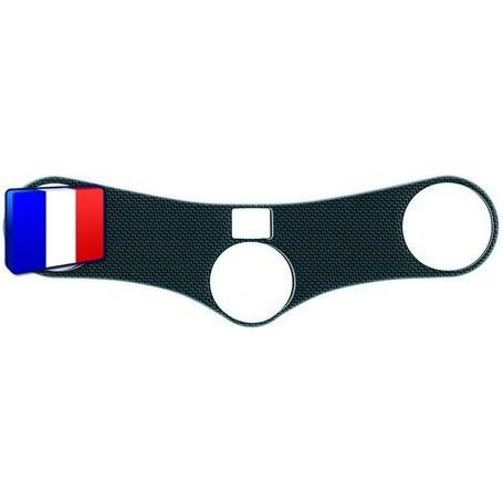 Protection Té de fourche 3D Keiti® aspect carbone Honda CBR 900 00-02