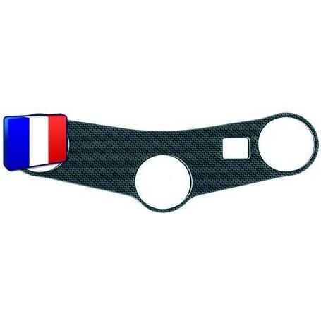 Protection Té de fourche 3D Keiti® aspect carbone Honda CBR 600 03