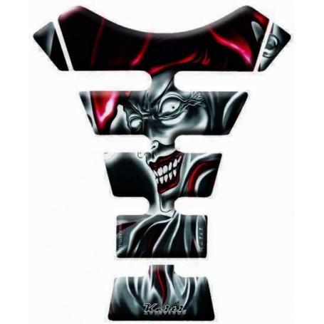 Protège réservoir moto 3D Keiti® Joker Rouge KT6500R