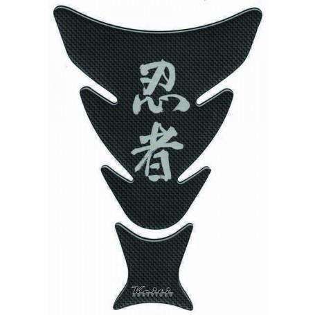 Protège réservoir moto 3D Keiti® Ninja Carbone TKW-503CB