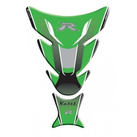 Protège réservoir moto 3D Keiti® Kawasaki Vert TKW-504G
