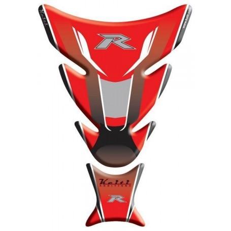 Protège réservoir moto 3D Keiti® Kawasaki Rouge TKW-504R