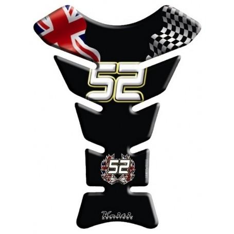 Protège réservoir moto 3D Keiti® James Toseland Numero 52 KT8170