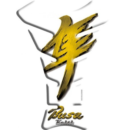 Protège réservoir moto 3D Keiti® Hayabusa Or TSZ-607C