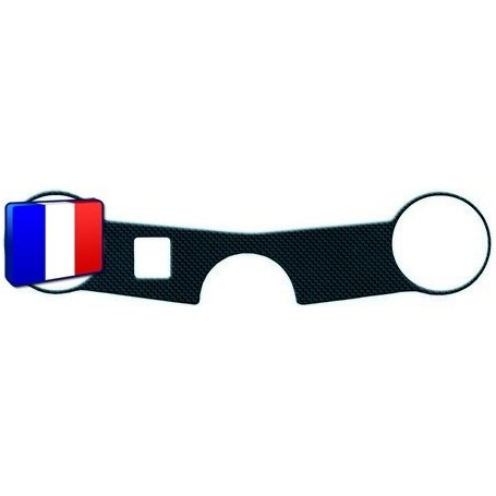Protection Té de fourche 3D Keiti® carbone Suzuki GSXR 600 04-05