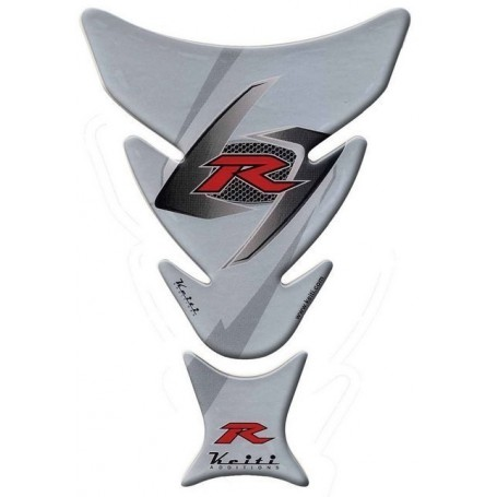 Protège réservoir moto 3D Keiti® Suzuki Gris TSZ-605S