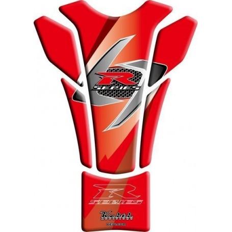 Protège réservoir moto 3D Keiti® Suzuki rouge TSZ-609R