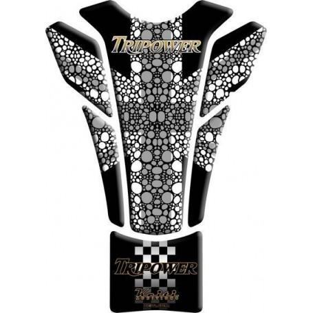 Protège réservoir moto 3D Keiti® Triumph tripower TTR-704K