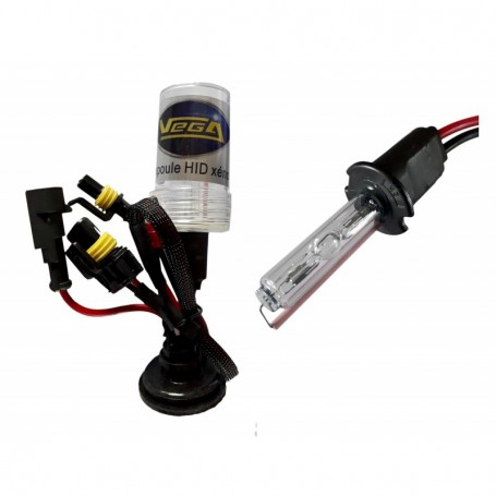 Ampoule HID Xénon Vega® H3 35W à embase ABS