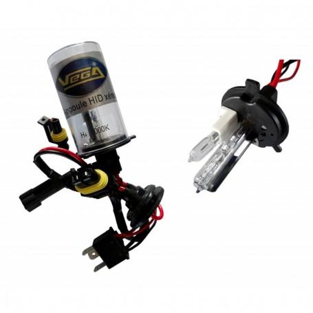 Ampoule HID Xénon Vega® H4HI 35W à embase ABS