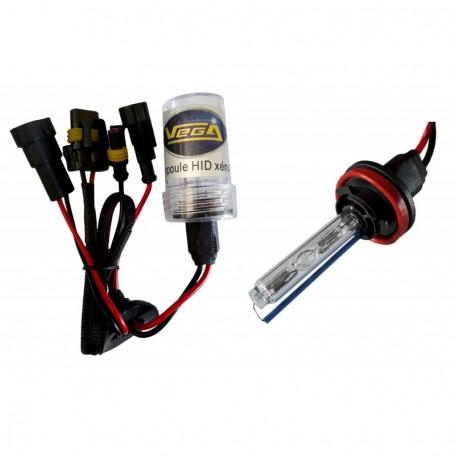 Ampoule HID Xénon Vega® H9 35W à embase ABS