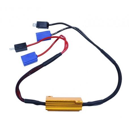 Résistance anti erreur ODB 50W pour ampoule H1