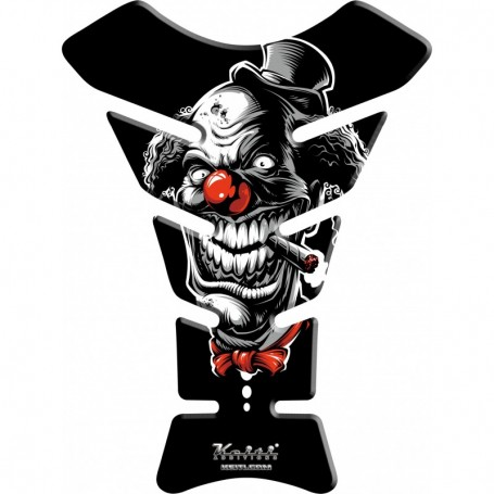 Protège réservoir moto 3D Keiti® Clown fumeur KT8690