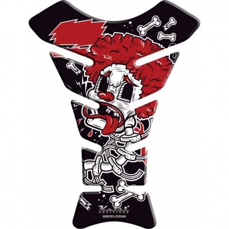 Protège réservoir moto 3D Keiti® Clown graffiti KT8730