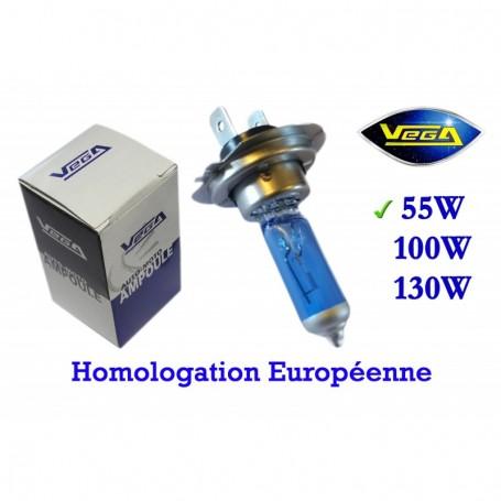 Ampoule Vega® Xénon Daylight H7 PX26d homologuée 55W 12V