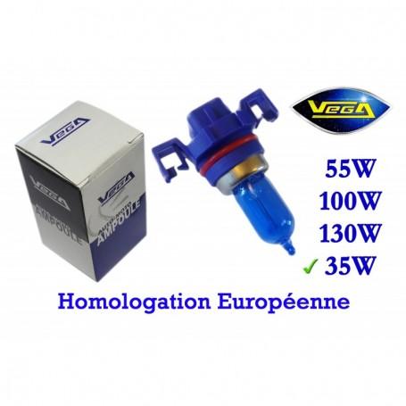 Ampoule Vega® Xénon Daylight H16 PGJ19-3 homologuée 19W 12V