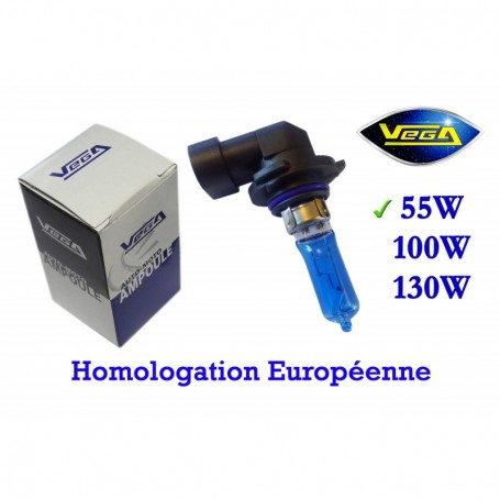 Ampoule Vega® Xénon Daylight HB3 9005 P20d homologuée 60W 12V