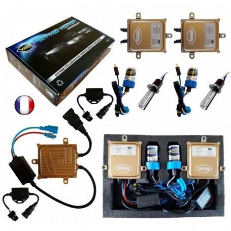 Kit HID Xénon Vega® H3 55W Canbus ODB 2 ampoules à embase métallique - Garantie à vie