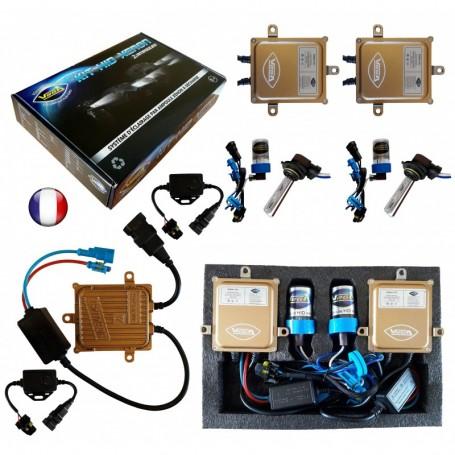 Kit HID Xénon Vega® HB3 9005 55W Canbus ODB 2 ampoules à embase coudée - Garantie à vie
