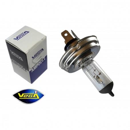 Ampoule Vega® halogène Maxi CE R2 P45t Code Européen homologuée 45W/40W 12V