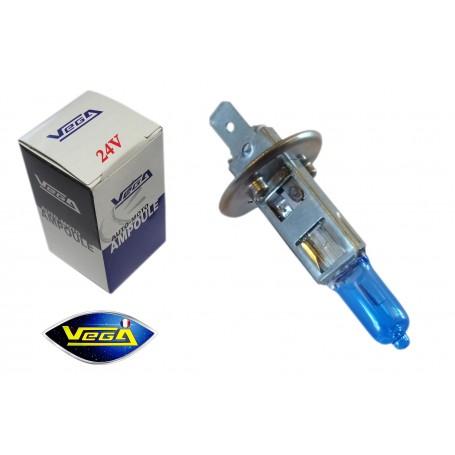 Ampoule Vega® Effet Xénon Daylight H1 P14.5s homologuée 70W 24V