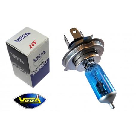 Ampoule Vega® Effet Xénon Daylight H4 P43t 100W/90W 24V