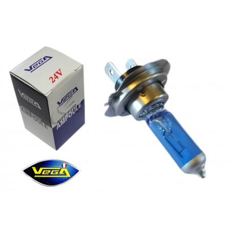 Ampoule Vega® Effet Xénon Daylight H7 PX26d homologuée 70W 24V